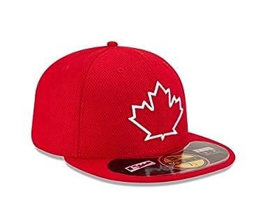 Toronto Blue Jays New Era Diamond Era Red Alternate Fitted Hat