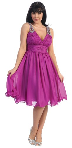 US Fairytailes Formal Cocktail Party Short Prom Dress #2622