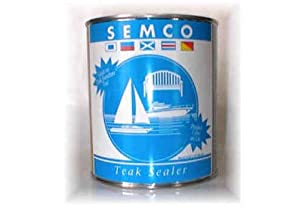 Semco Teak Wood Natural Finish Sealant Protector Sealer ( 1 Gallon - Approx Coverage 200sqft) by FurnitureOutlet
