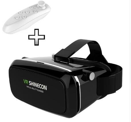 VR SHINECON Virtual Reality Headset 3D Glasses, Universal Headset Magic Private Images / Theater for iPhone 6S / 6 / Samsung / HTC 3.5 - 6 inch Smartphone