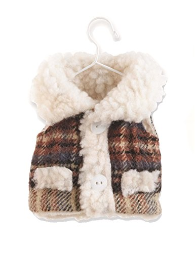 Mud Pie Sweater and Vest Ornaments (Vest)