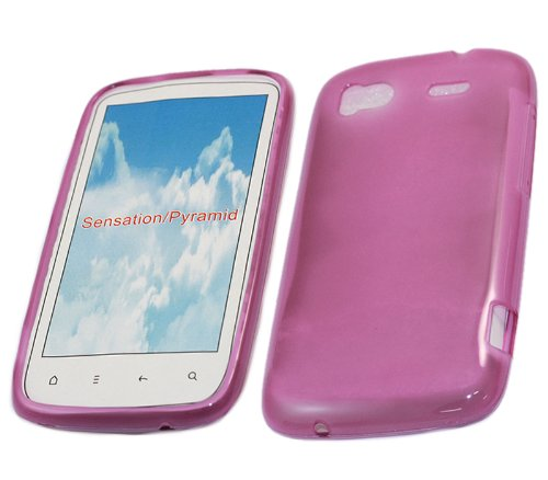 iTALKonline ProGel PURPLE Super Hydro Gel Protective Armour/Case/Skin/Cover/Shell for HTC Sensation HD Andriod SmartPhone
