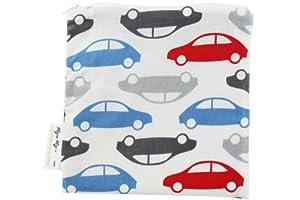 Itzy Ritzy Snack Happened - Bolsa para el almuerzo reutilizable, diseño de coches marca Itzy Ritzy en BebeHogar.com
