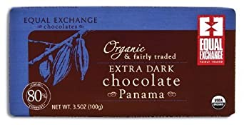 Equal Exchange Organic Panama Extra Dark Chocolate Bar, 3.5 Ounce -- 12 per case.