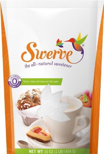 Swerve Sweetener, Granular, 16 oz, 3pk