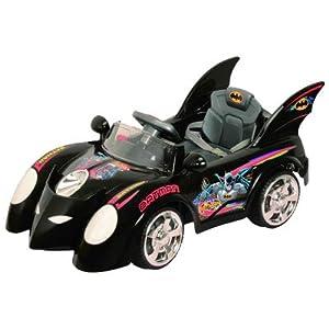 Best Ride on Cars 662R 6V Batmobile, Black
