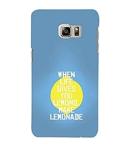EPICCASE Make Lemonade Mobile Back Case Cover For Samsung Galaxy Note 5 Edge (Designer Case)
