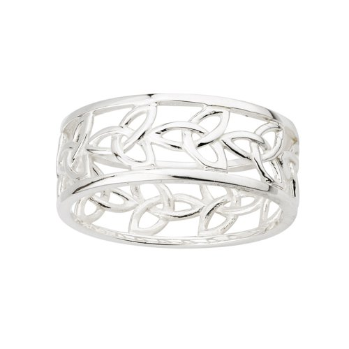 Trinity Knot Ring Sterling Silver Sz 9