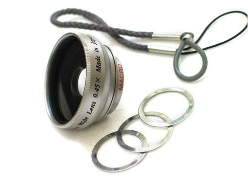 BOWER Small Wide Angle Conversion Lens VL45MS