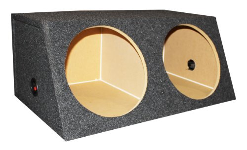 "Dual 12"" Inch Subwoofer Sub Box Two Speaker Enclosure"
