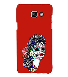 EPICCASE Girl with Flower Essence Mobile Back Case Cover For Samsung Galaxy A3 (Designer Case)