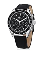 SO & CO New York Reloj de cuarzo Monticello Negro 40  mm