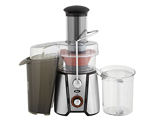Oster JusSimple 5 Speed Easy Clean Juice Extractor with Extra-Wide Feed Chute, FPSTJE9020-000, 1000W, Black/Silver (Oster Clean compare prices)