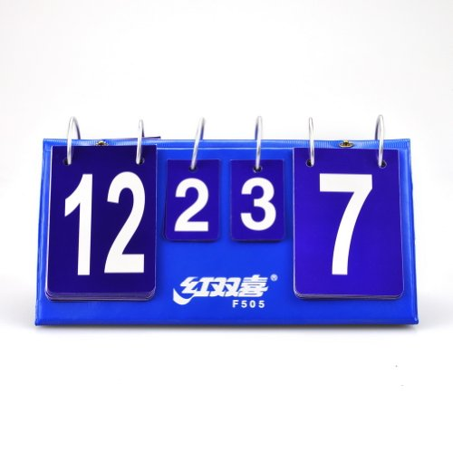 F505 Portable Flip Table Tennis Scoreboard Ping Pong
