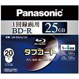 Panasonic ブルーレイディスク 録画用4倍速 25GB(単層 追記型) 20枚パック LM-BR25LT20