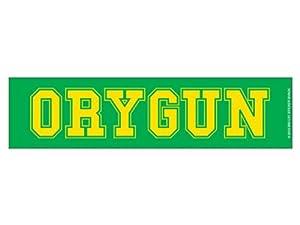 ORYGUN -Green & Yellow (Bumper Sticker)