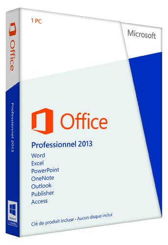 Microsoft Office Pro 2013 32-Bit/X64 French