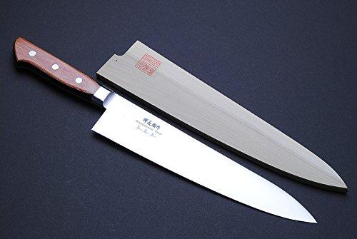 Yoshihiro Vg-1 Gyuto Stainless Steel Japanese Chef'S Knife (8.25In) Yoshikuni Series