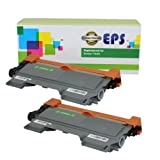 2 Pack EPS Replacement Brother TN450 Black Toner Cartridges