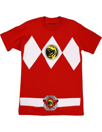 Mighty Morphin' Power Rangers Red Ranger Men's Costume T-Shirt
