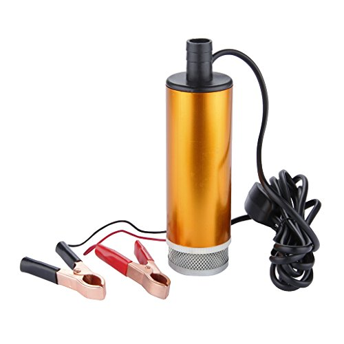 12V DC Diesel Water Oil Fuel Transfer Pump Car Truck Camping Submersible-- (Electric Oil Pump 12v compare prices)