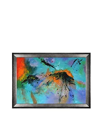 Pol Ledent Abstract 96532 Framed Hand-Painted Reproduction