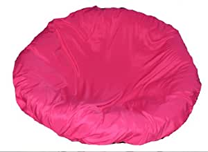 Hotpink papasan cushion cover and footstool Papasan cushion cover