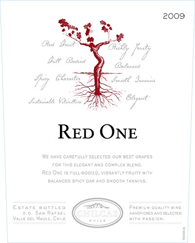 2009 Chilcas Red One D.O. San Rafael - Valle Del Maule Chile Red Blend 750 Ml