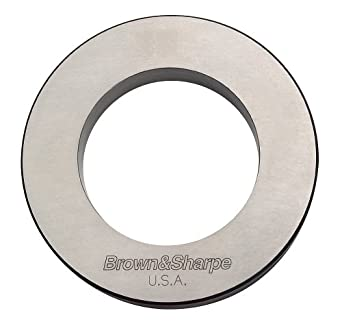 Brown & Sharpe 599-281-2882 Inside Micrometer Setting Ring for Style A and Style B, 70mm Diameter