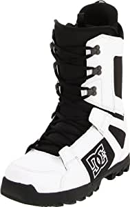 DC Men's Phase 2012 Performance Snowboard Boot,White/Black,13 M US