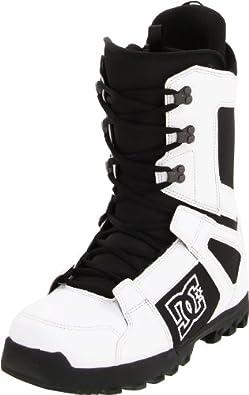 DC Men's Phase 2012 Performance Snowboard Boot,White/Black,9 M US