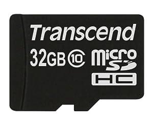 Transcend Extreme-Speed Class 10 microSDHC 32GB Speicherkarte [Amazon Frustfreie Verpackung]
