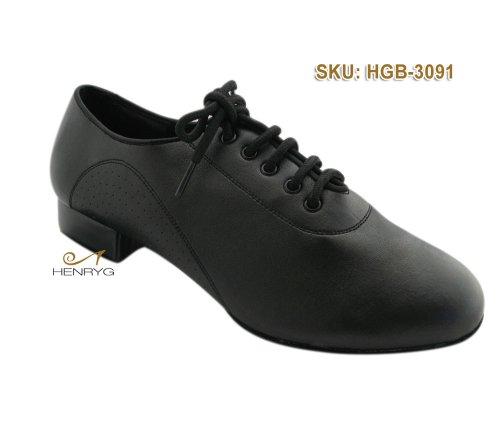HenryG Mens Two Point Dance Shoes, Men's Split Sole Ballroom Dance Shoes HGB-3091