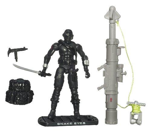 """G.I. Joe The Rise of Cobra 3 3/4 Action Figure Snake Eyes Ninja Commando"""" - 1"""