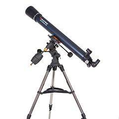 Celestron AstroMaster 90 EQ Refractor Telescope by Celestron