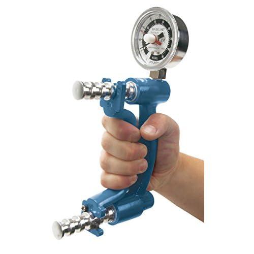 BASELINE ベースライン 油圧式 握力計 90kg 日本語マニュアル付