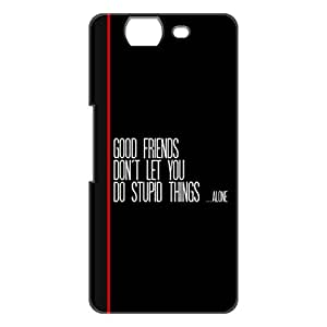 a AND b Designer Printed Mobile Back Cover / Back Case For Micromax Canvas Knight A350 (MIC_A350_3D_733)