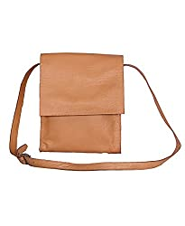NC Designer Branded 100% Genuine Leather messenger bags.Comfort Pure Leather Tan color.