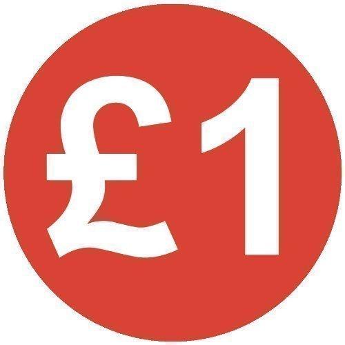 Autocollant Audioprint Ltd Small 13mm Prix £1 - Lot de 100