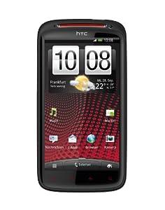 HTC Sensation XE Smartphone mit Beats Audio (10.9 cm (4.3 Zoll) Touchscreen, Android 2.3 OS, 1.5 GHz Dual Core Prozessor, 8 MP Kamera) schwarz