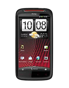 HTC Sensation XE Smartphone mit Beats Audio (10.9 cm (4.3 Zoll) Touchscreen, Android 2.3 OS, 1.5 GHz Dual Core Prozessor, 8 MP Kamera) schwarz