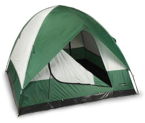 Stansport Black Granite Series Rainer 2 Pole Dome Tent (9-Feet X 9-Feet X 72-Inch)