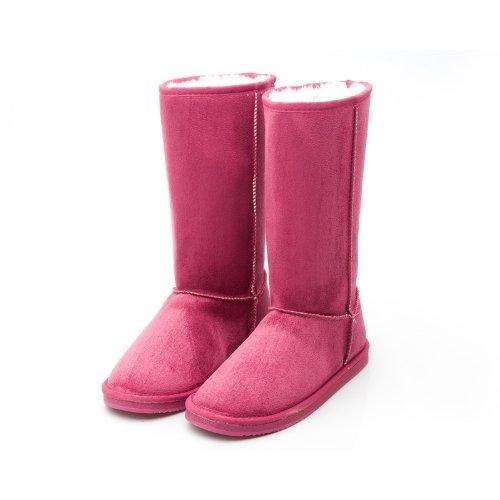 Reneeze W-ROSE-1 Women Mid-Calf Boot- Fuchsia