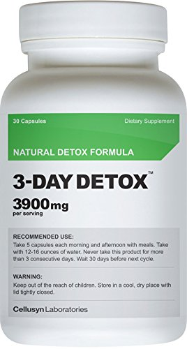 3 Day Detox - Full Body Detox - Loose Weight - Promote Vitality & Energy - Improve Absorption & Digestion