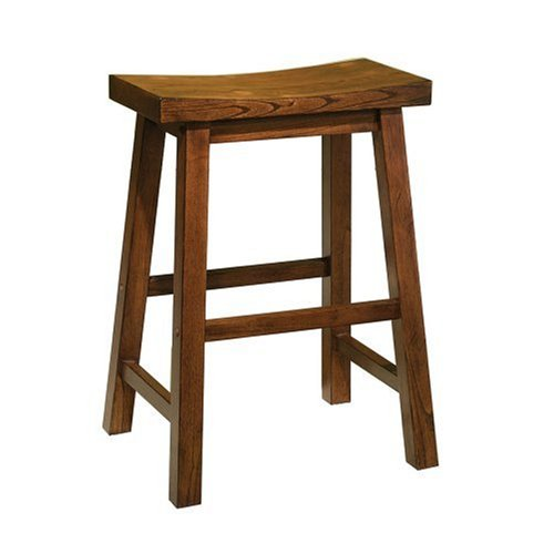 Powell Honey Brown 24 Inch Counter Stool Cheap Bar Stools