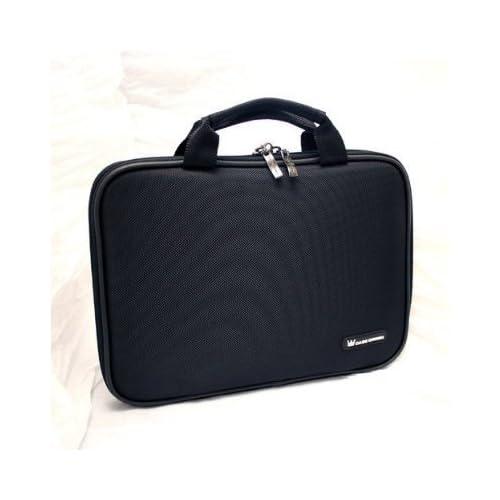 Dell Inspiron Mini 10 Netbook CaseCrown Premium Double Memory Foam Laptop Case (Nylon Black)