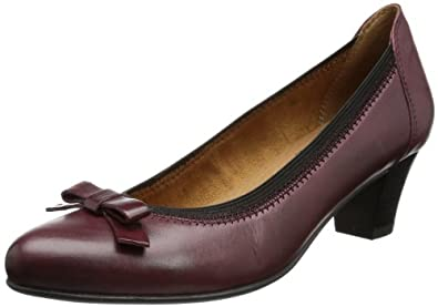 Caprice Womens Silvia-1-1 9-9-22305-21 549 Closed Red Rot (BORDEAUX) Size: 40