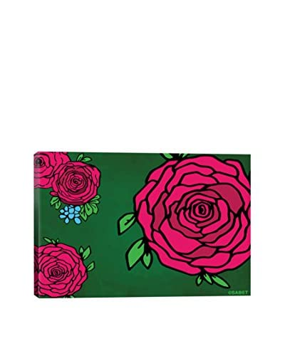 Ali Sabet First Flowers Pink Canvas Print