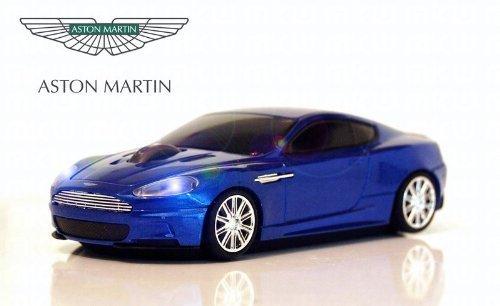 Aston Martin DBS Wireless Auto-Mouse (Blu) Senza fili ottico
