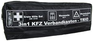 3in1 kfz kombi verbandskasten warndreieck warnweste erste. Black Bedroom Furniture Sets. Home Design Ideas